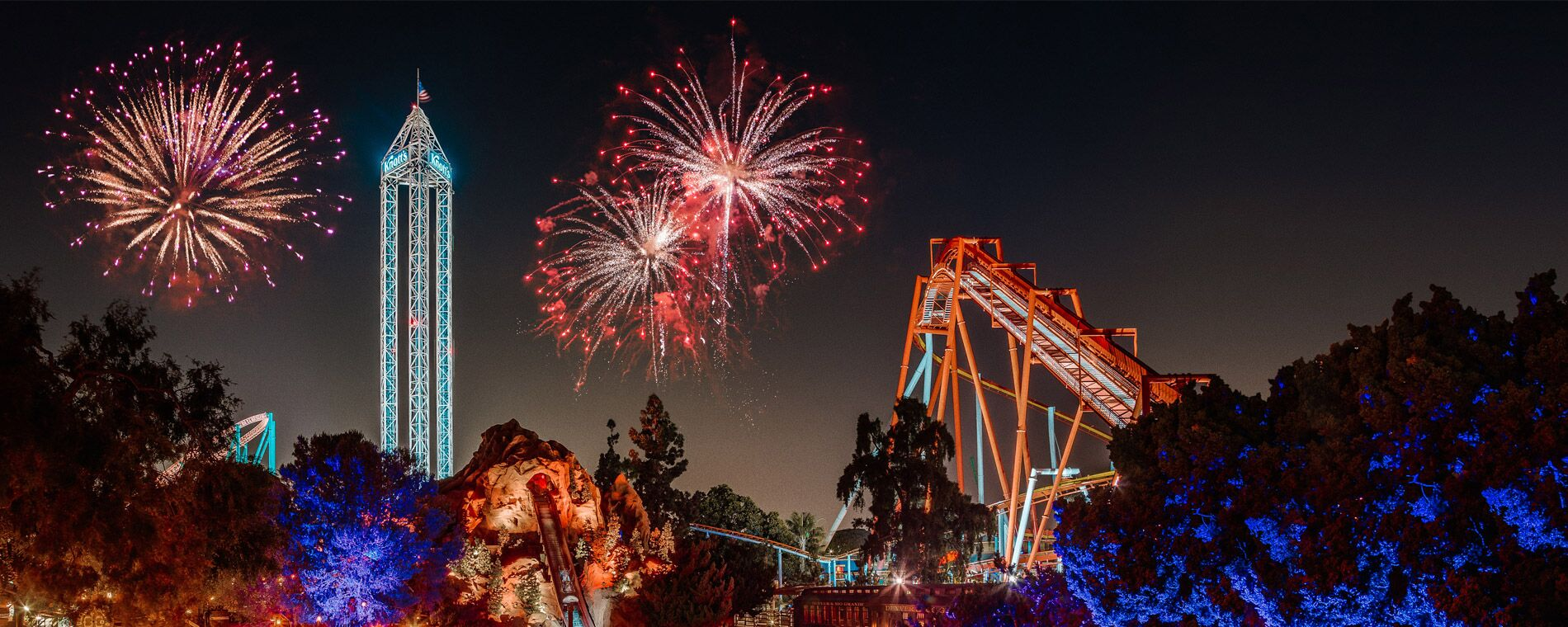 New Year's Eve Fireworks and Party at Knott's Berry Farm