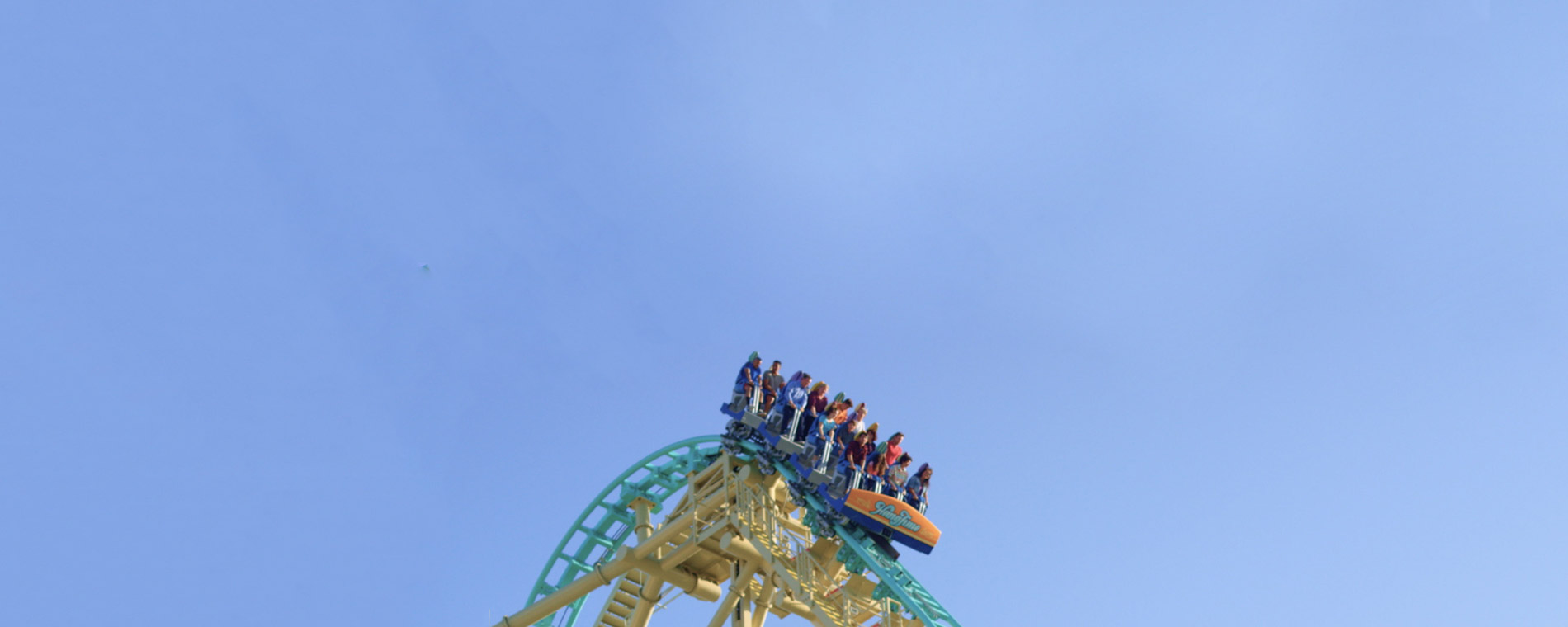 HangTime Steepest Drop Roller Coaster California