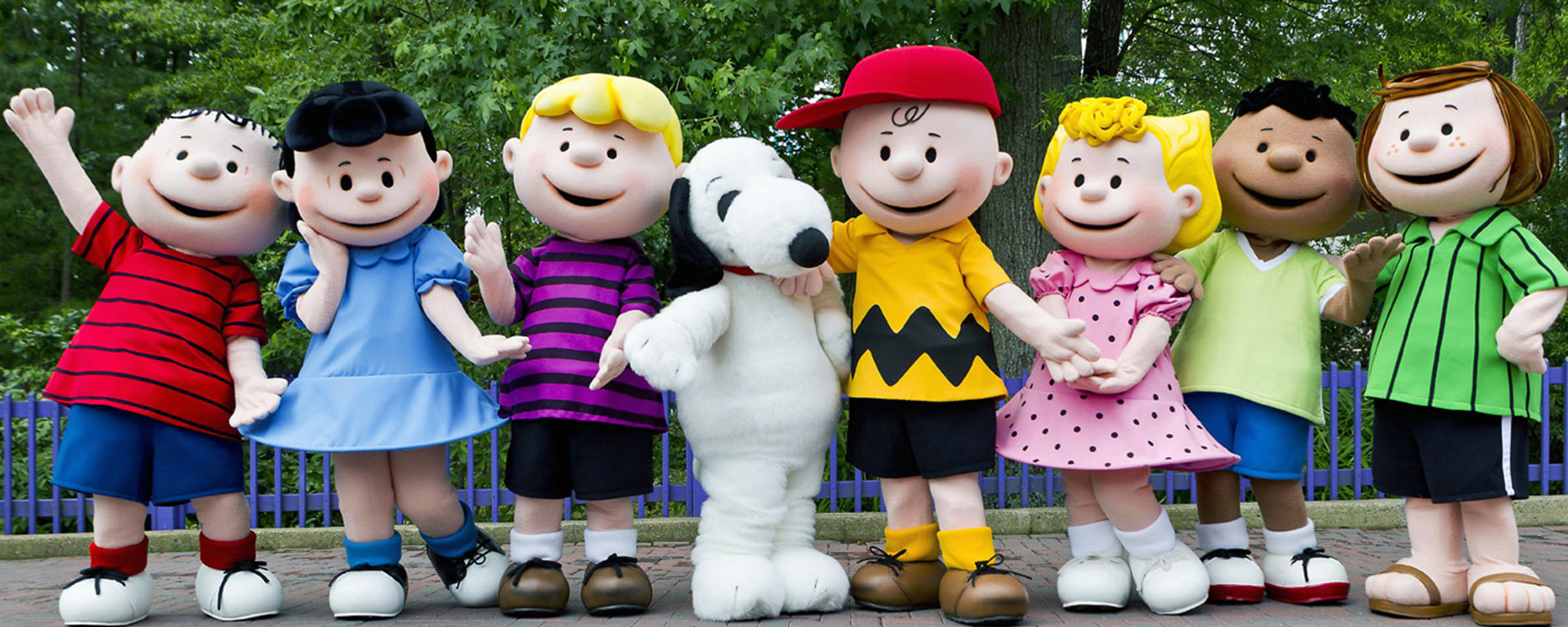Peanuts Celebration at Kings Island