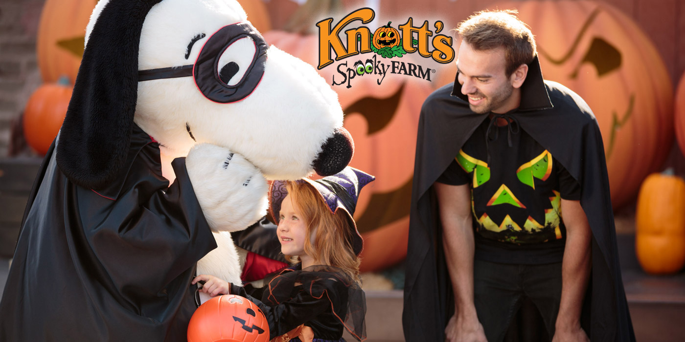 Halloween Event for Kids & Families at Knott's Spooky Farm