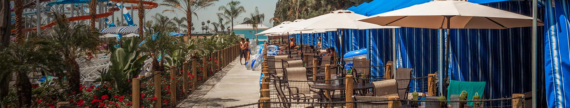 Knott's Soak City Cabanas