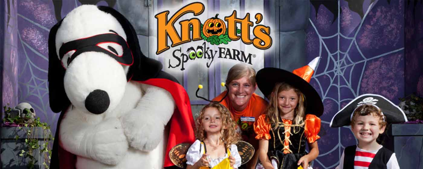 the annual daytime family friendly halloween celebration knotts spooky farm takes place weekends september 30 october 29 and halloween day