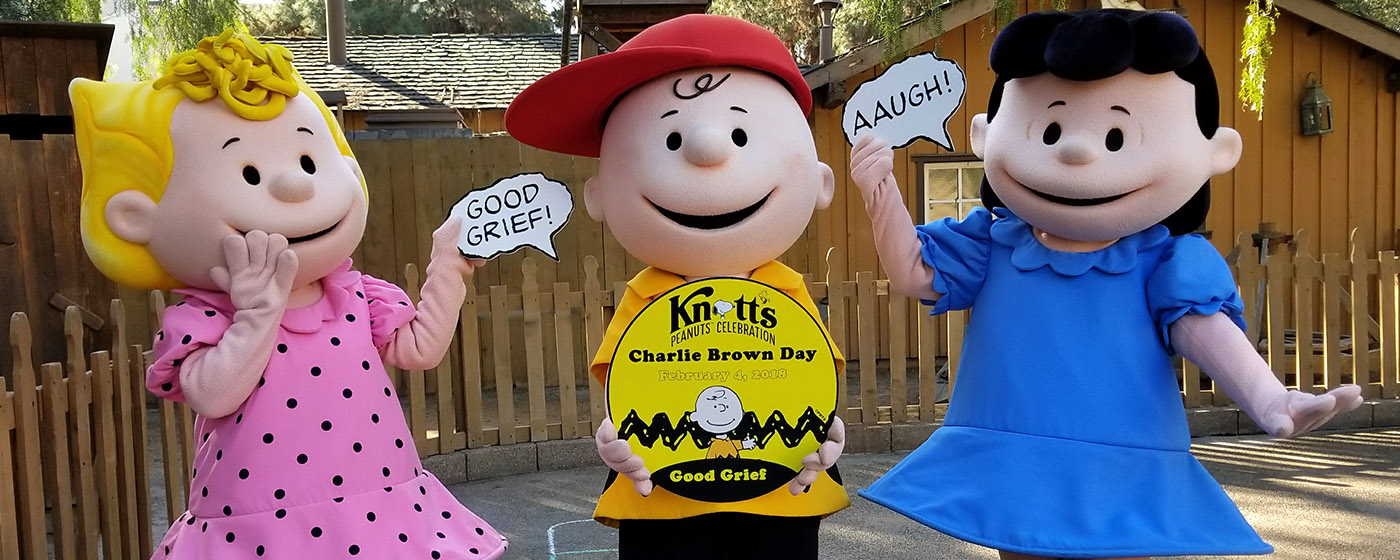 183e9d5da1 Good Grief! Charlie Brown Day at Knott s Peanuts Celebration ...