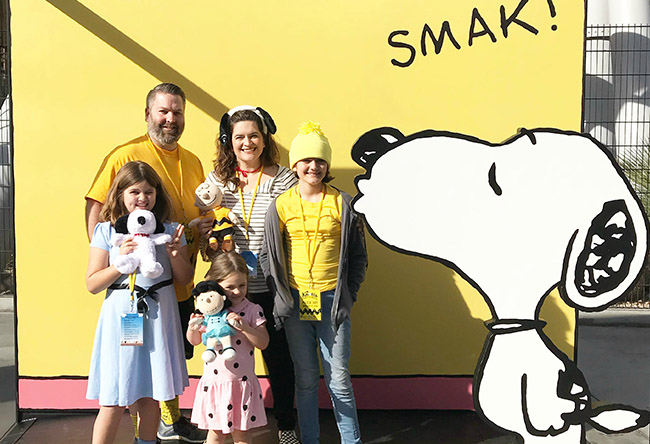 Peanuts Costumes for the Knott's PEANUTS Celebration