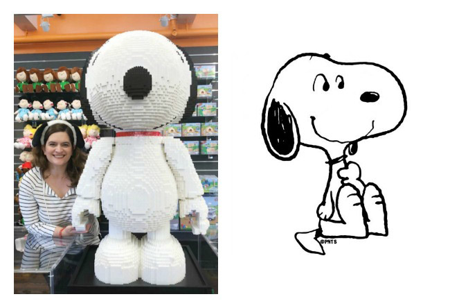 DIY Snoopy Peanuts Costume
