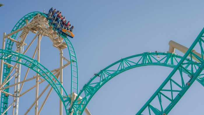 HangTime Steel Roller Coaster at Knott's Berry Farm
