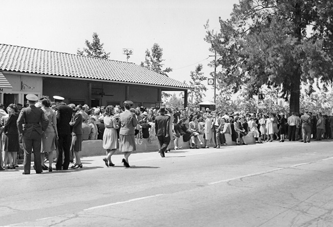 Historical photos of Knott's Berry Farm Amusement Park