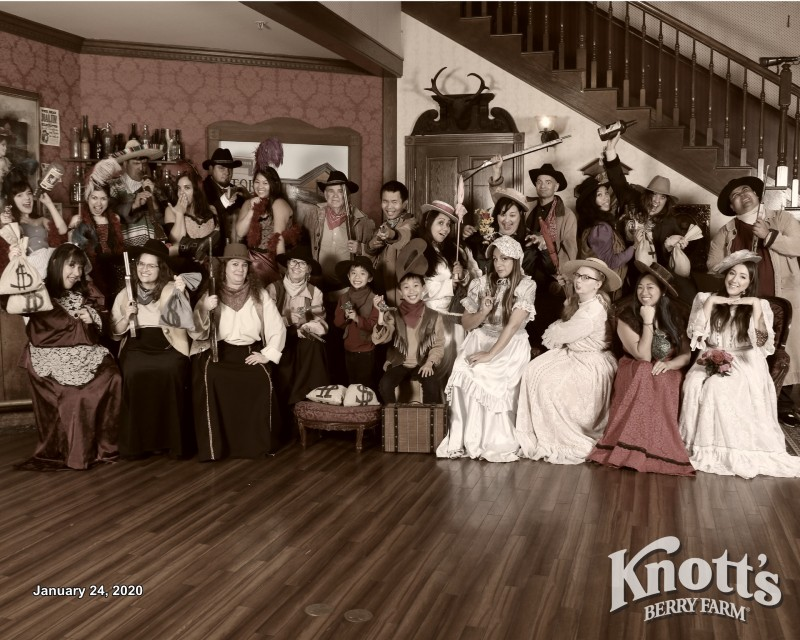 Knott's Berry Blog Authors, the Knott's Anniversary Ambassadors