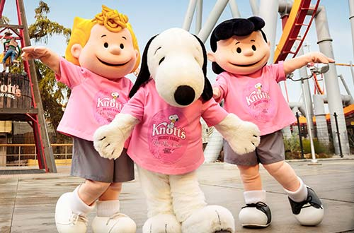 Knott's for the Cure Raises Over $130,000 for Komen OC