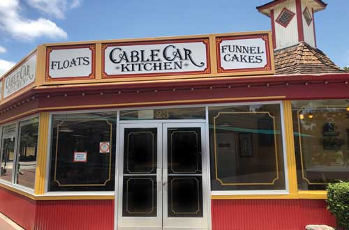 Cable Car Kitchen