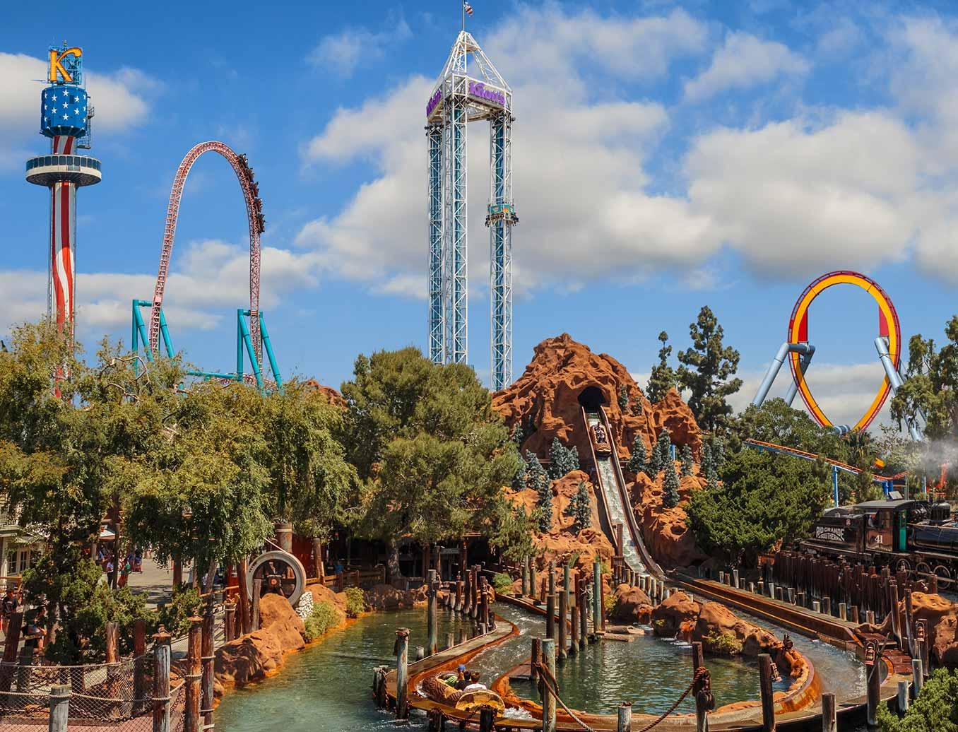 California S Best Theme Park Amusement Park Knott S Berry Farm