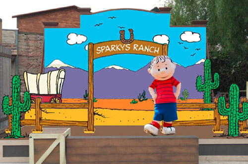 Peanuts Cowboy Jamboree at Knott's Berry Farm
