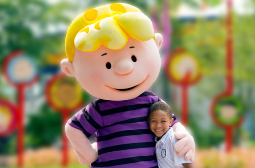 The Music Goes 'Round and Around Schroeder At Knott's Peanuts Celebration