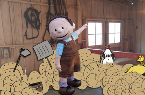 PigPen at Knott's Peanuts Celebration