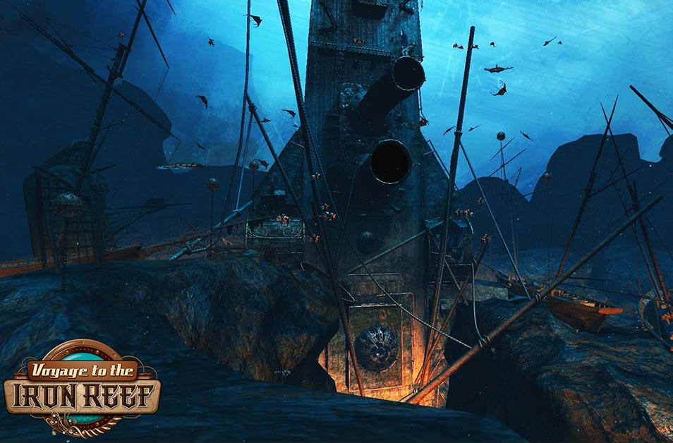 Voyage to the Iron Reef - Adventure - Knott's Berry Farm