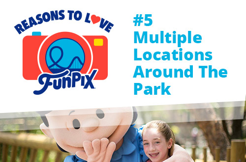 Multiple Locations Around The Park