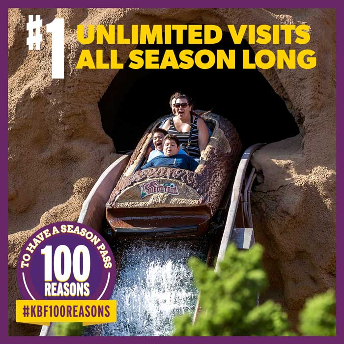 Unlimited visits all season long.