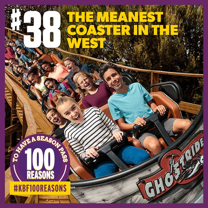 The meanest coaster in the West.