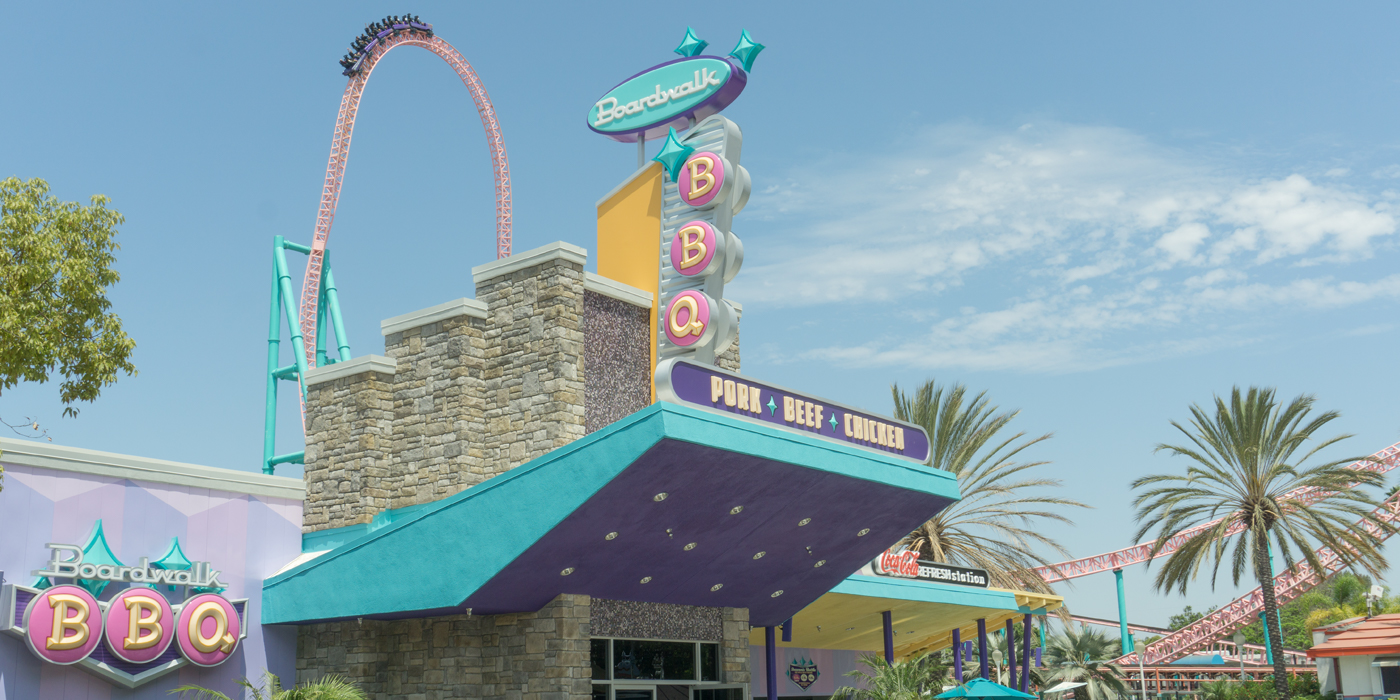 Boardwalk BBQ Dining Location At Knott's Berry Farm