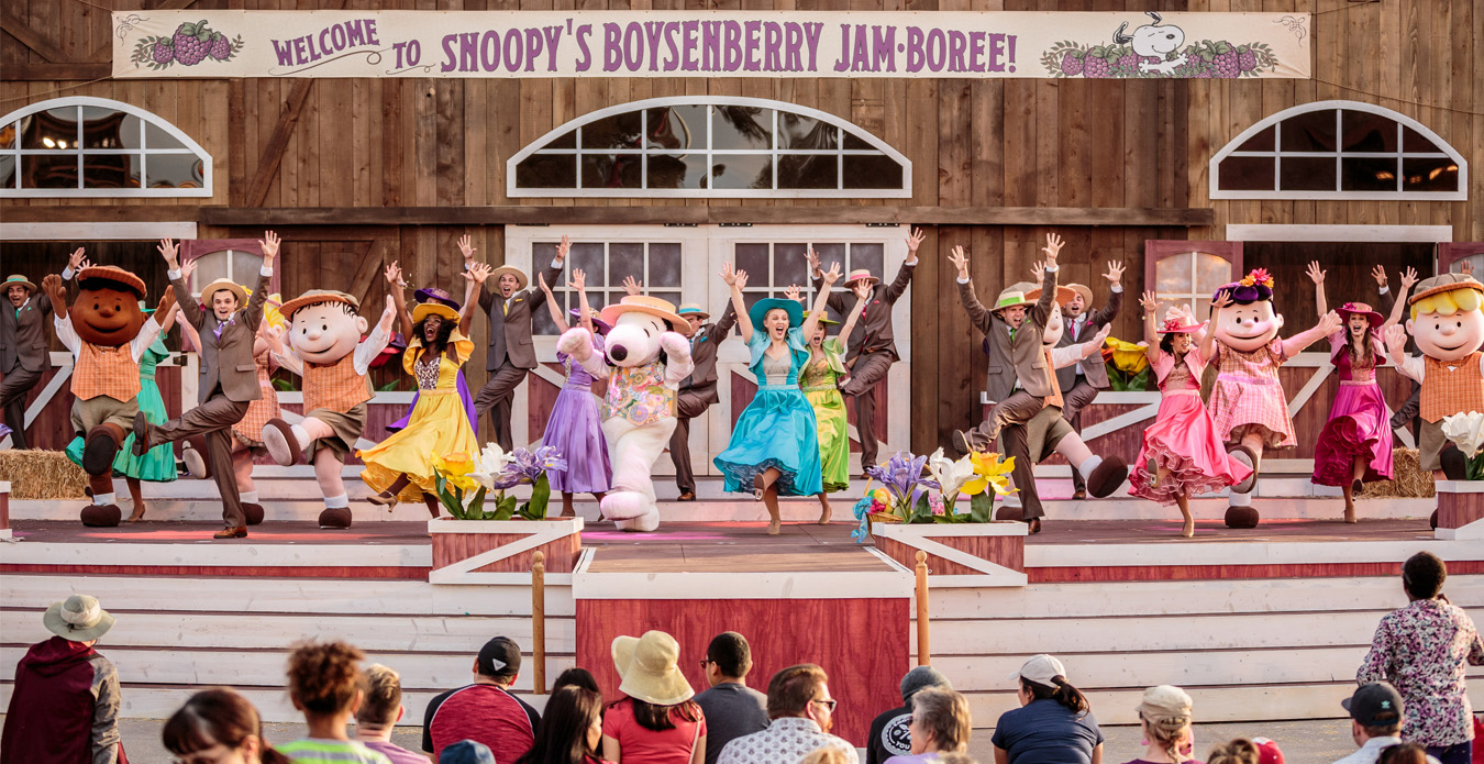 Snoopy's Boysenberry Jamboree at the Boysenberry Festival