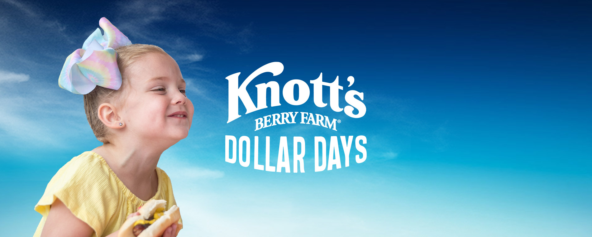 Dollar Days Food & Merchandise Deals at Knott's Berry Farm