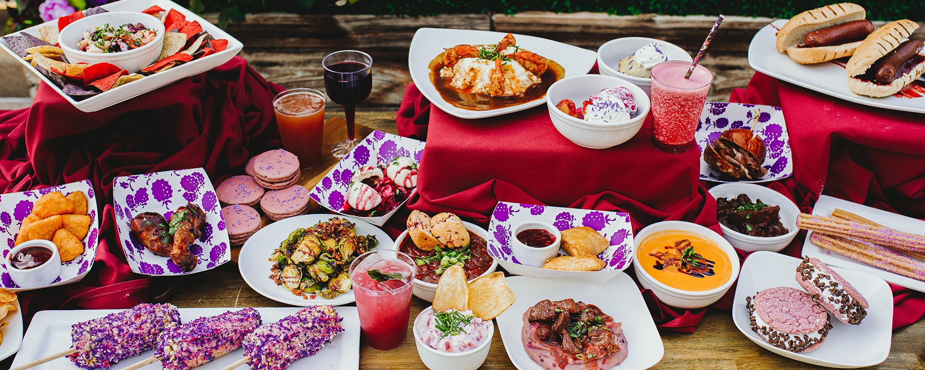 Food & Drinks at Knott's Boysenberry Festival