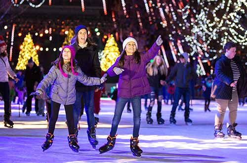 Discounted Ice Skating at Kings Dominion