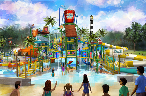 Kings Dominion Soak City Water Park