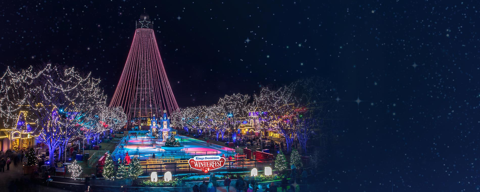 Live Performance at Kings Dominion's WinterFest Holiday Event