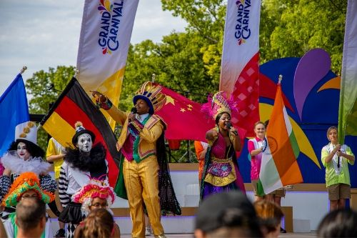 Opening Weekend Success at Grand Carnivale - Kings Dominion