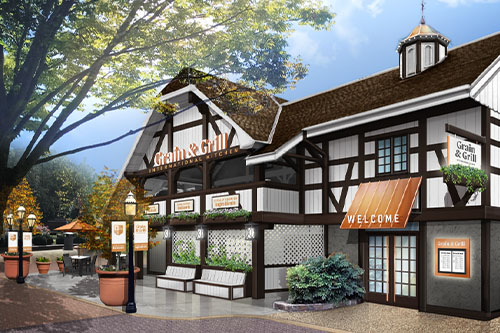 Kings Dominion's newest restaurant, Grain & Grill!
