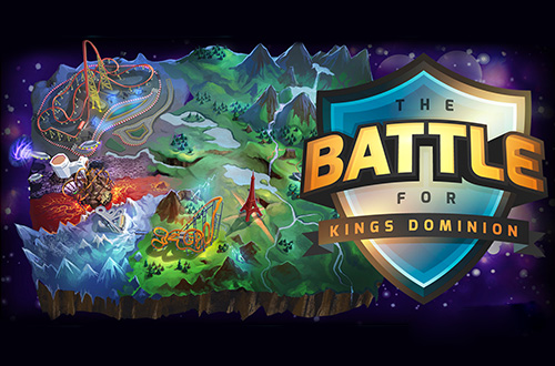 Step into a brand new virtual world with the Battle for Kings Dominion, an immersive gaming app.