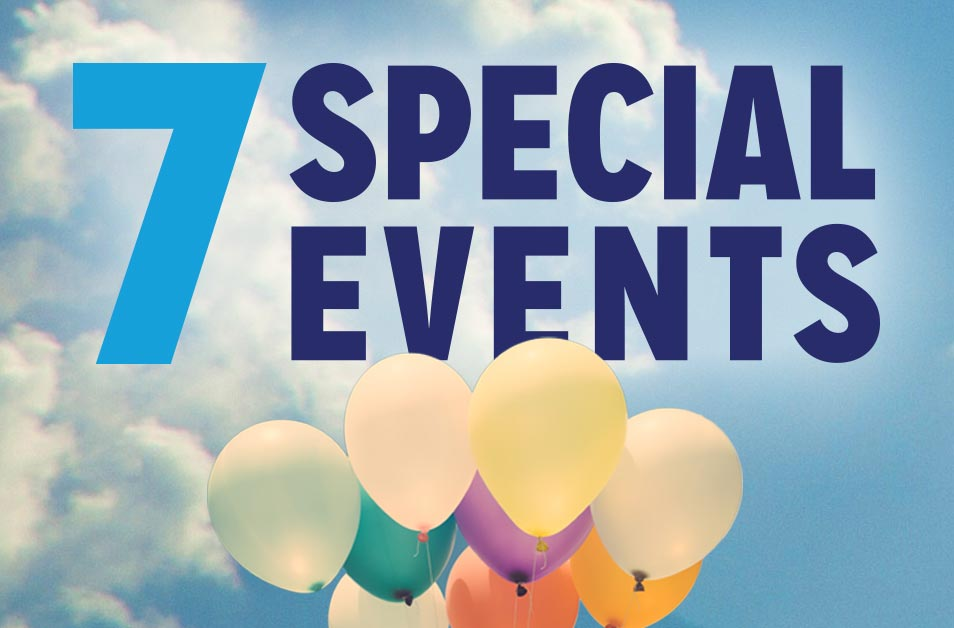 7 Special Events
