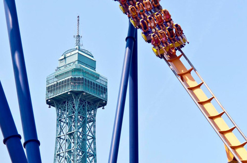 Carowinds Group Teambuilding Tower Above the Rest