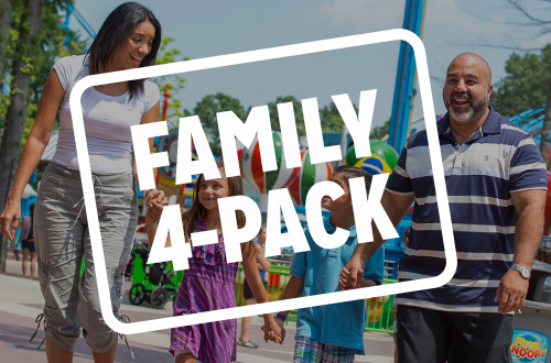 Family 4-Pack Admission