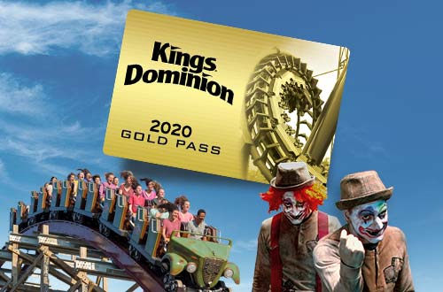 Map & Directions | Kings Dominion