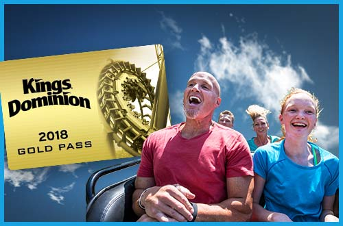 Kings Dominion Gold Season Pass