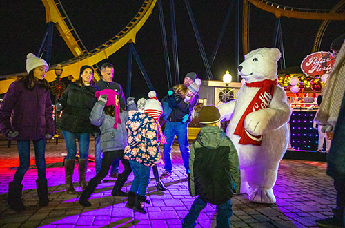 Polar Pop Dance Party at Kings Dominion's NYE Celebration