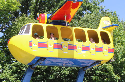 8a3180b26b Kings Dominion Plane Snoopy Expansion Sally s Sea Plane