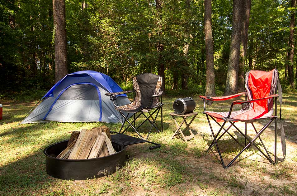 Pop-Up & Tent Sites at Kings Dominion KOA Camp Site