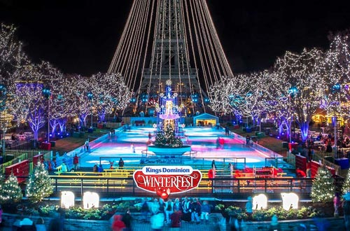 WinterFest Lighting Spectacular at Kings Dominion