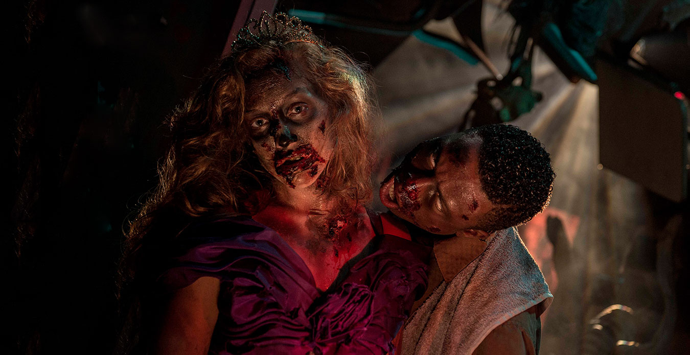 Zombie High at Kings Dominion's Halloween Event