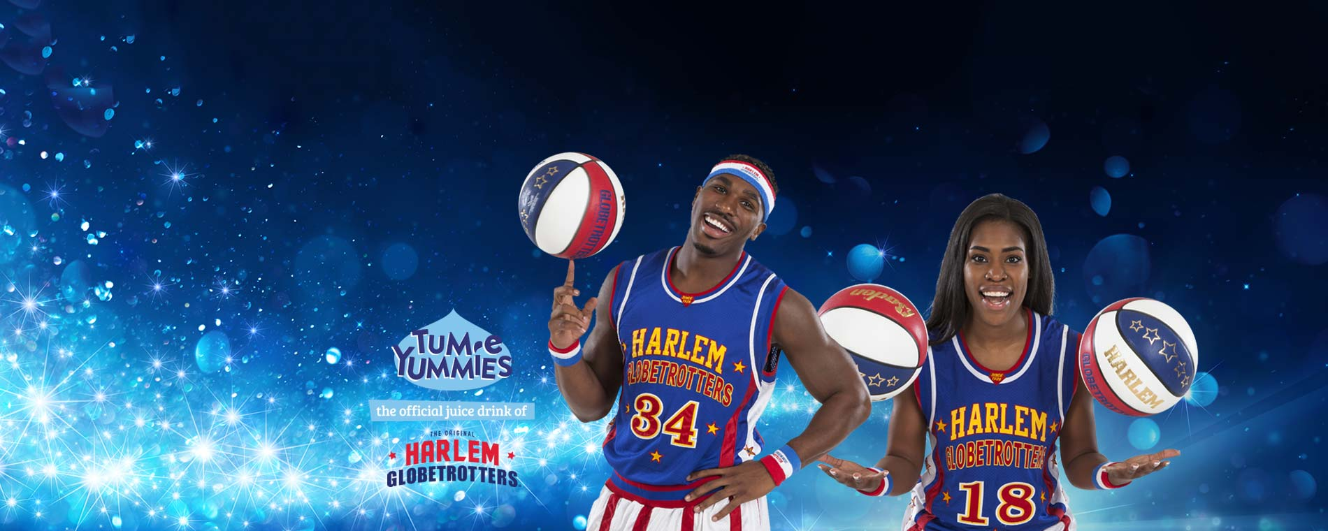 Harlem Globetrotters presented by Tum-E Yummies®