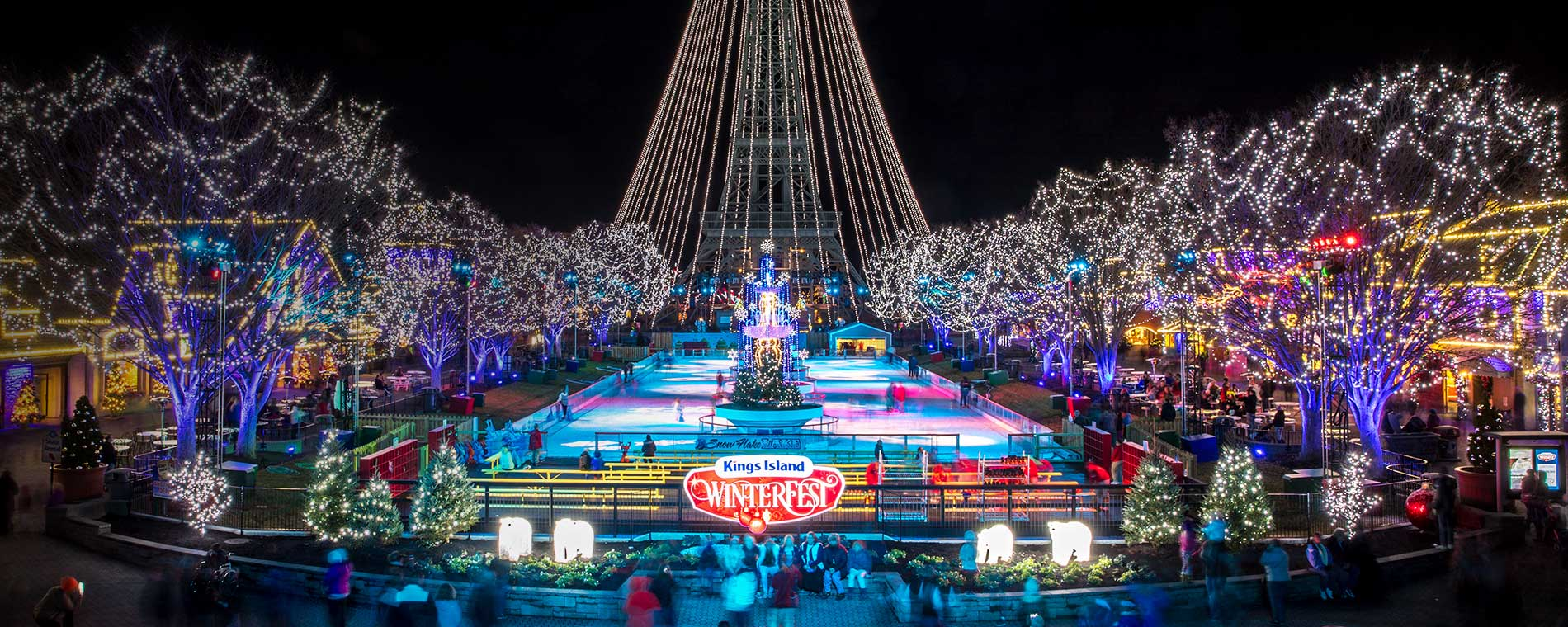 Kings Island WinterFest Holiday Event