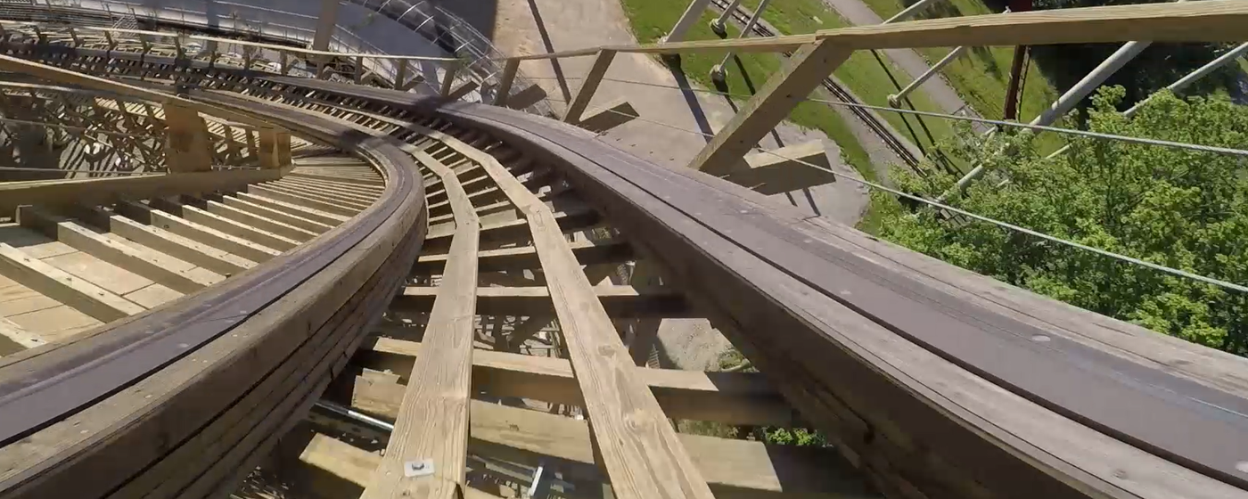 Mystic Timbers established Kings Island as the wood roller coaster