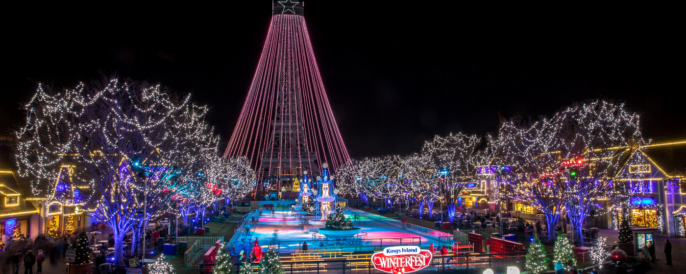Image result for winterfest kings island