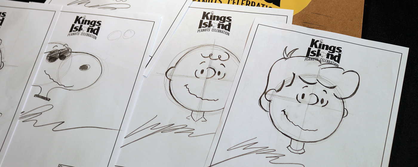 a6831ea0c3fa Whether you're a budding artist who loves to doodle or a bit of a  butterfingers who prefers stick figures, PEANUTS Celebration at Kings  Island will turn you ...