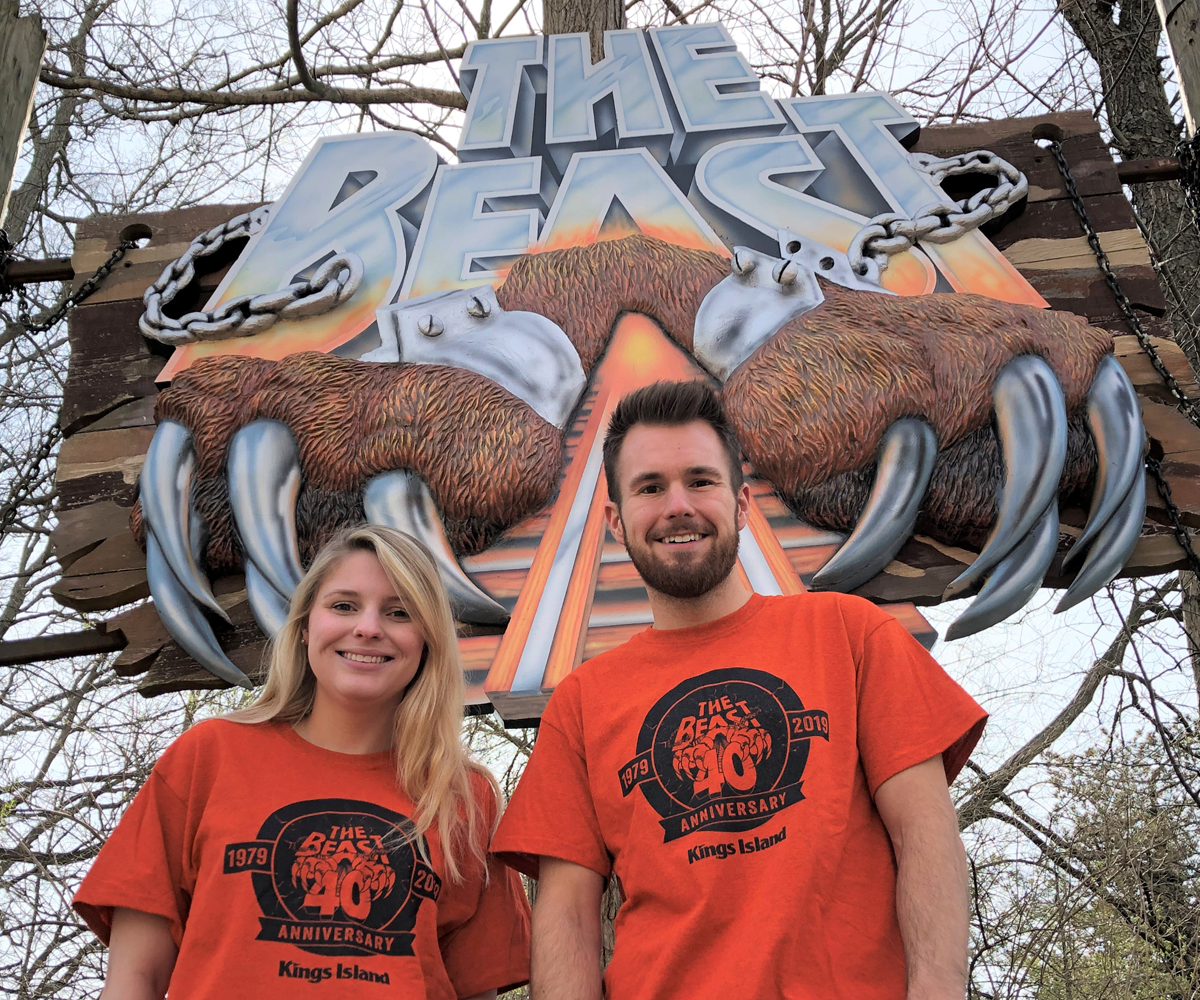 c66ff457280c2a  Beast 40th anniversary t-shirts will not be distributed to riders during  Gold and Platinum Passholder early ride time between 9 30 a.m. and 10 00  a.m. on ...