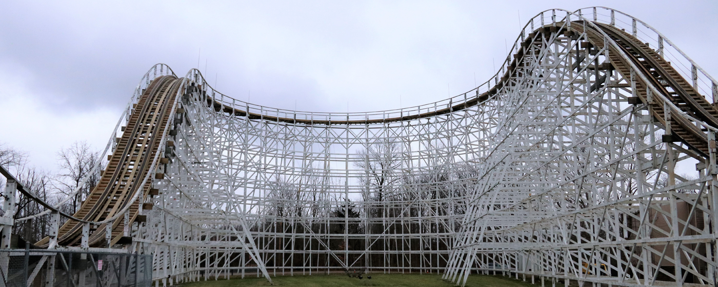 New track part of Racer roller coaster's annual winter work