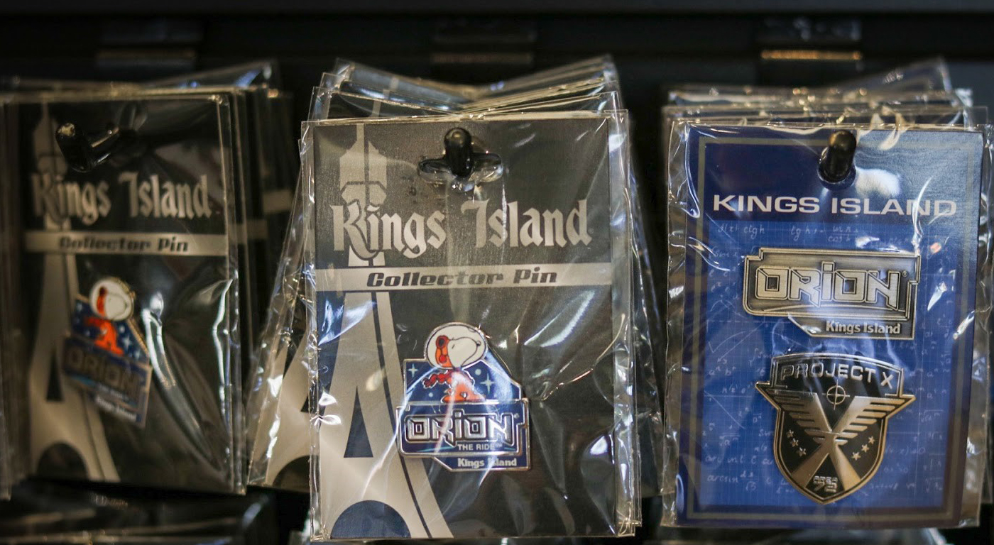 New Kings Island Collectible Pins